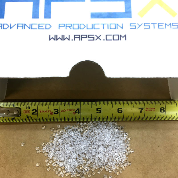 Picture of POLYCARBONATE (PC) NATURAL PELLETS (2 LBS)