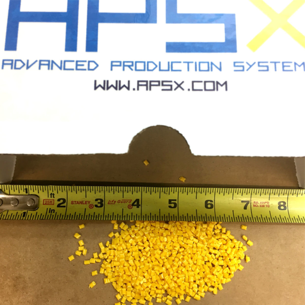 Picture of POLYPROPYLENE (PP) YELLOW PELLETS (2 LBS)